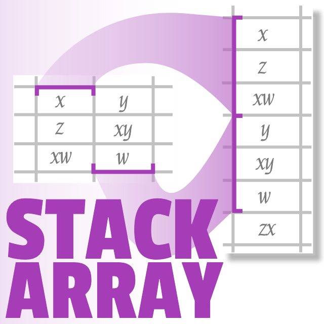 Stack array in Google Sheets